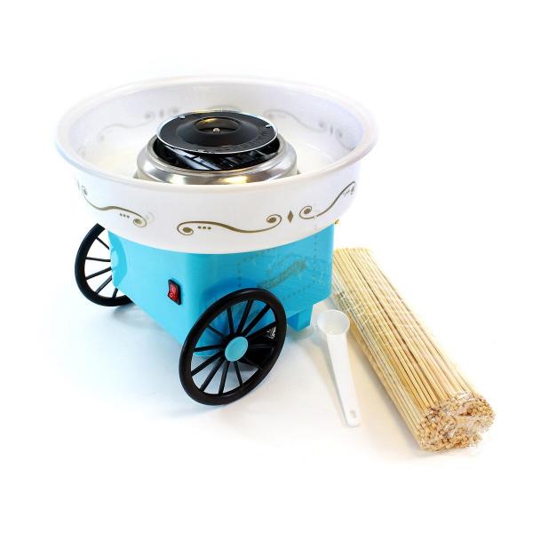 Aparat de facut vata de zahar pe bat Cotton Candy Maker Roz 6