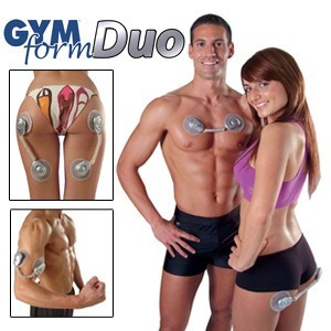 Aparat de masaj electrostimulator Gym Form Duo 0