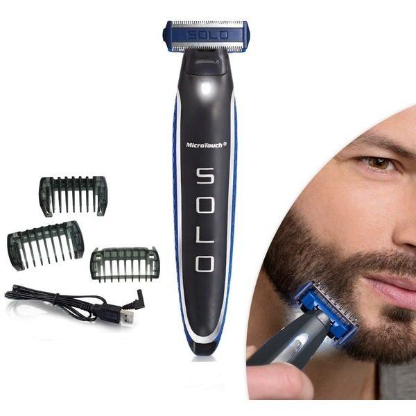 Aparat electric de de ras trimmer si barbierit electric Micro Touch Solo [0]