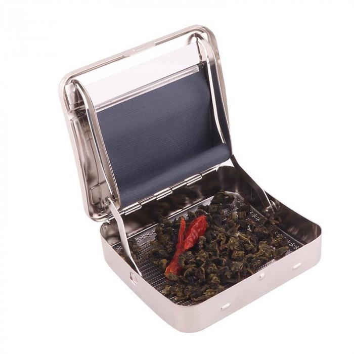 Aparat metalic pentru facut tigari, manual, Heyu Rollbox 1