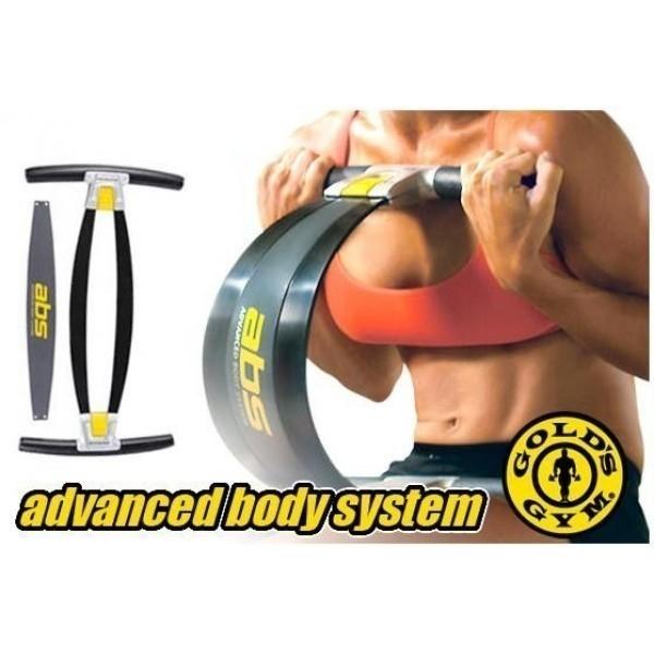 Aparat multifunctional de fitness pentru brate abdomen si coapse Gold's Gym ABS 0
