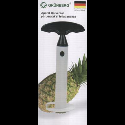 Aparat pentru curatat si feliat ananas Grunberg Gr 374 [1]
