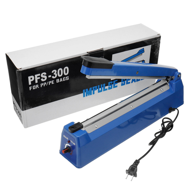 Aparat pentru lipit si sigilat pungi de plastic Impulse Sealer PFS-300P 0