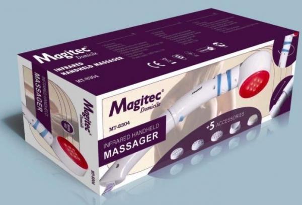 Aparat pentru masaj cu vibratii si infrarosu Magitec MT-8304 0