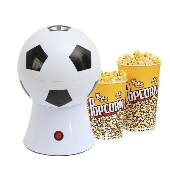 Aparat pentru preparat popcorn in forma de minge fotbal,1200W [2]