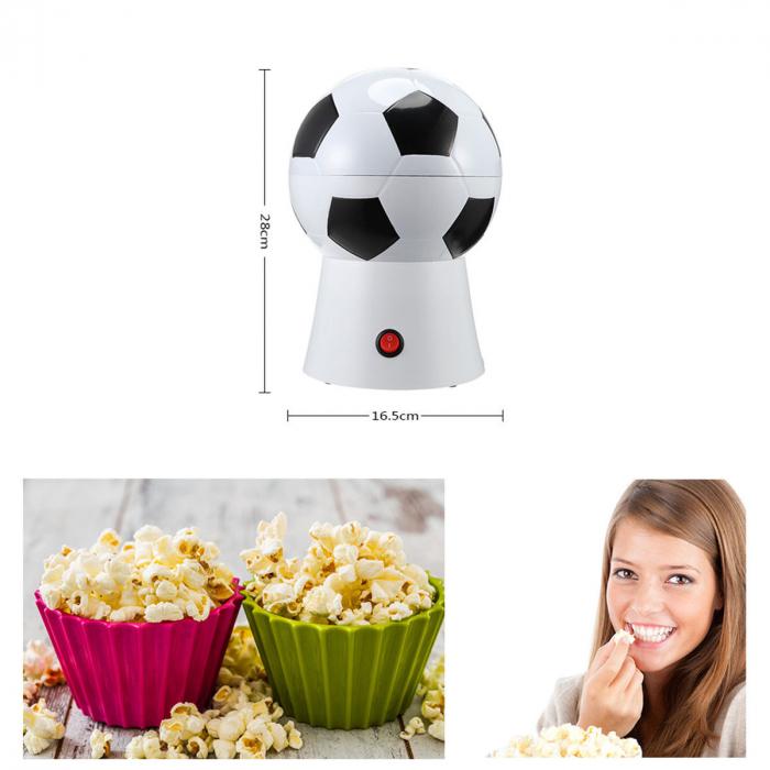 Aparat pentru preparat popcorn in forma de minge fotbal,1200W [3]