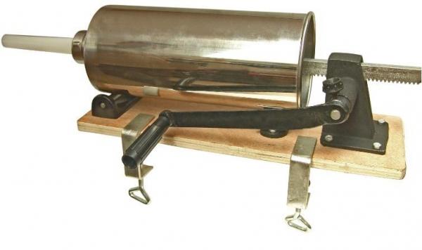 Aparat pentru umplut carnati manual Hurka 4 kg 0