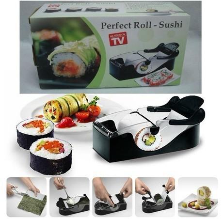 Aparat manual de facut sushi,Perfect Roll Sushi 0