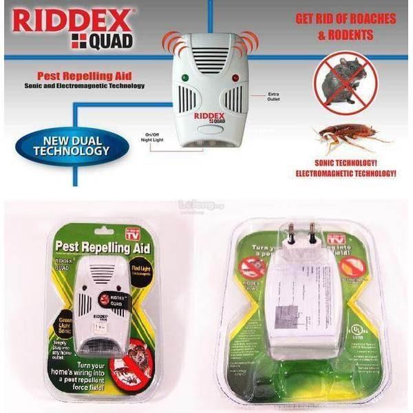 Aparat Riddex Quad Pest Repelling Aid antidaunatori 0