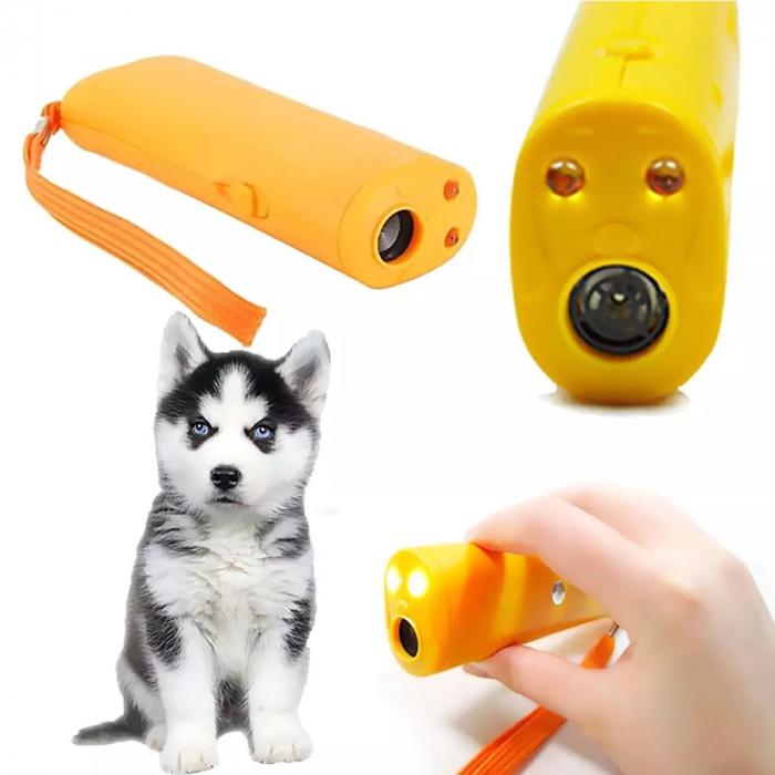 Aparat portabil ultrasunete impotriva cainilor agresivi sau pentru dresaj 1
