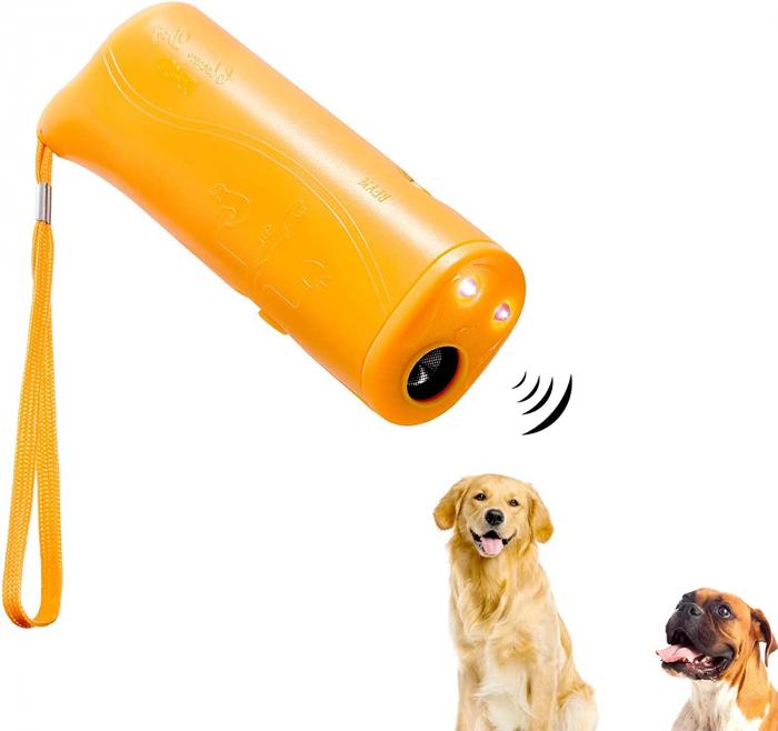 Aparat portabil ultrasunete impotriva cainilor agresivi sau pentru dresaj 0