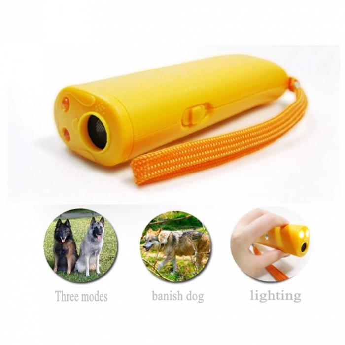 Aparat portabil ultrasunete impotriva cainilor agresivi sau pentru dresaj 4