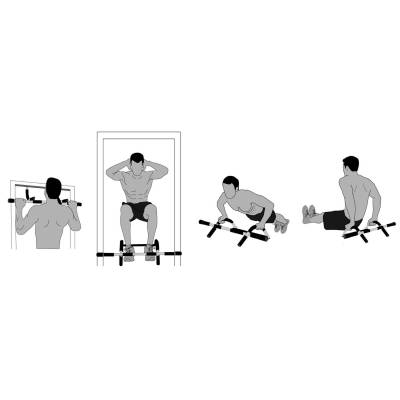 Aparat multifunctional pentru intretinere musculatura Iron Gym 5