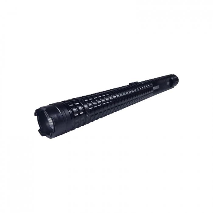 Baston electroșoc pentru autoaparare metalic,Police HY-X8 [0]
