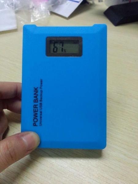 Baterie externa cu dubla iesire USB Power Bank 12000 mAh 0