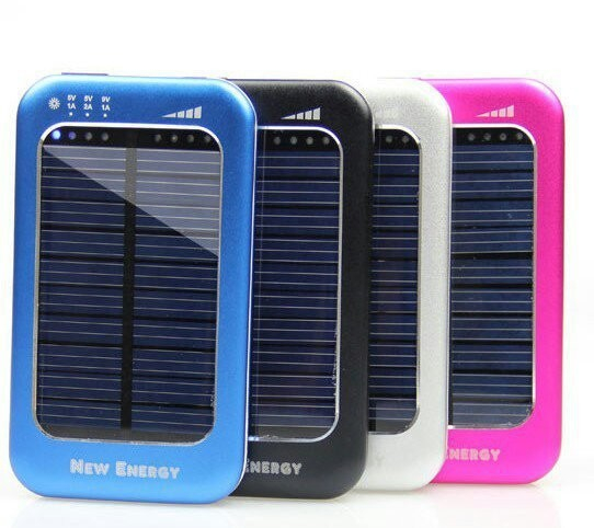 Baterie solara pentru telefoane si tablete WN-808 5000 mAh 0