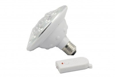 Bec economic cu 15 LED-uri cu Acumulator si Telecomanda XY-715 0