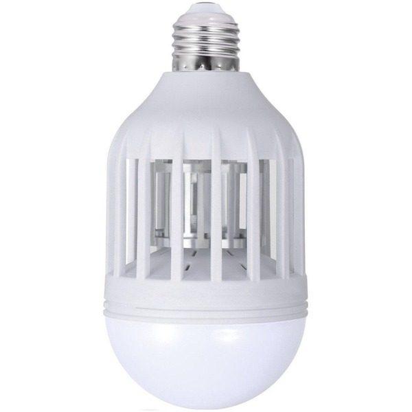 Bec LED antiinsecte cu lampa UV si capcana pentru tantari ZappLight LED 60W [0]