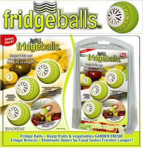 Bile pentru mentinerea prospetimii in frigider Fridge Balls 0