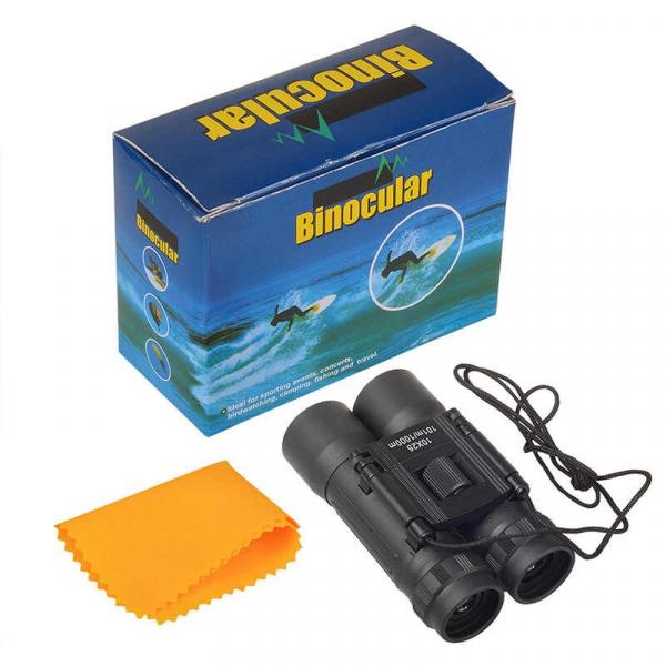 Binoclu 10x25 compact de buzunar semiprofesional 5