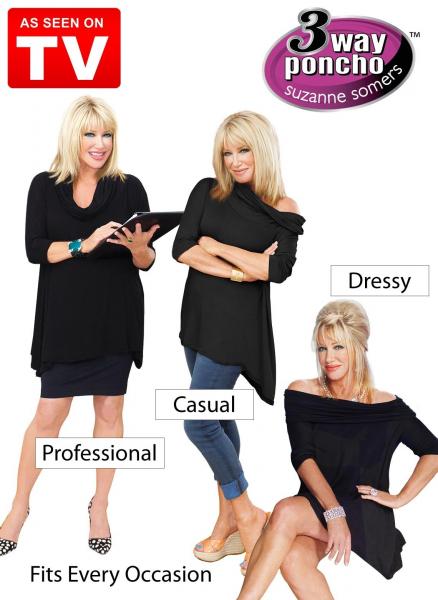 Bluza Poncho Caresse 3 moduri de purtat [1]