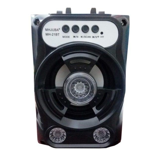 Boxa portabila cu Bluetooth iluminata LED cu Radio FM, si cititor USB / TF card MH-21BT [0]