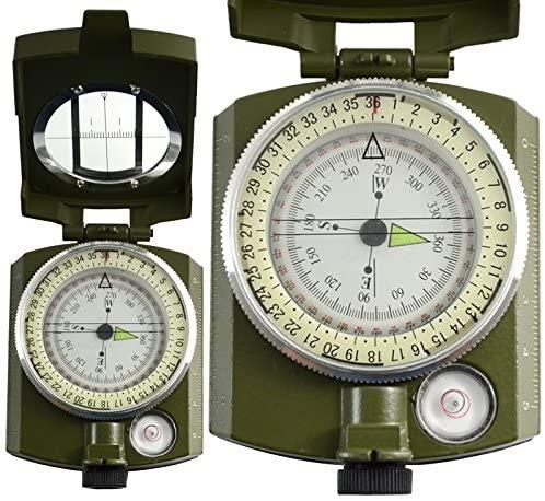 Busola militara cu ocular si reper prismatic TTG 1