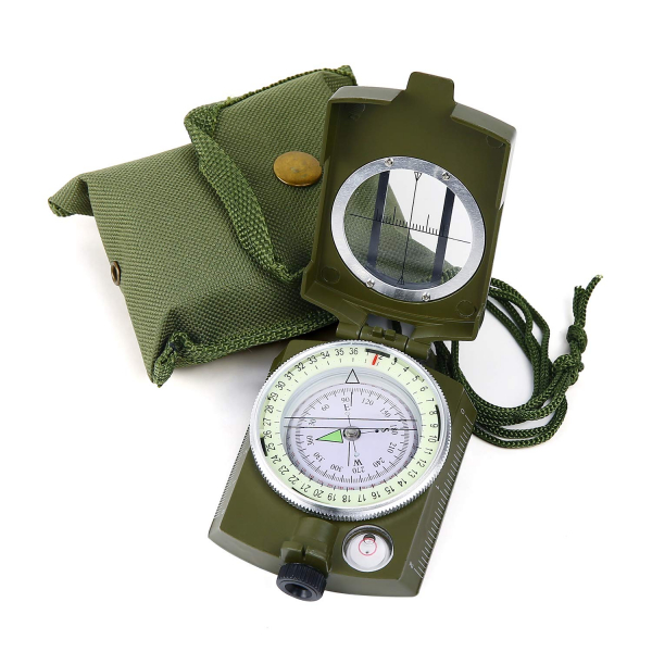 Busola militara cu ocular si reper prismatic TTG 2