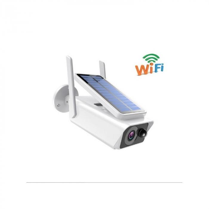 Camera de supraveghere Wifi, wireless cu panou solar 4