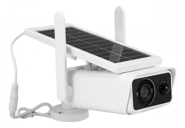 Camera de supraveghere Wifi, wireless cu panou solar 0