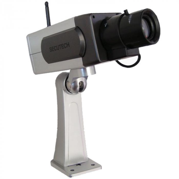 Camera falsa cu senzor de miscare PT-1400A, unghi rotatie 45 grade [0]