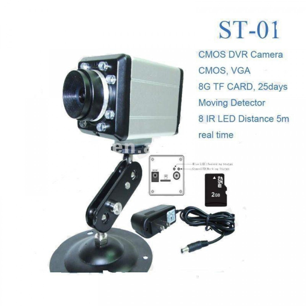 Camera video cu card SD si IR ST-01 0