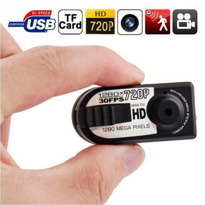 Camera video mini spion Q5 cu inregistrare HD si detectie de miscare Night Vision [3]