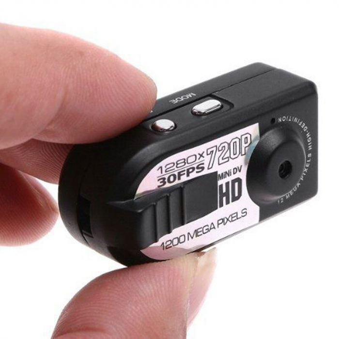 Camera video mini spion Q5 cu inregistrare HD si detectie de miscare Night Vision [2]