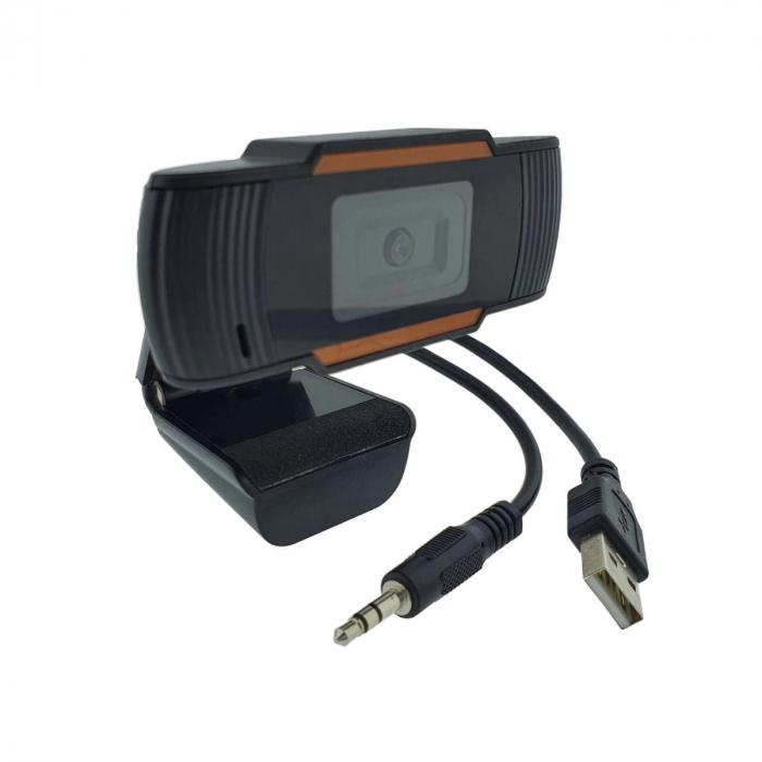 Camera web Full HD 1080P cu microfon incorporat, USB 2.0 0