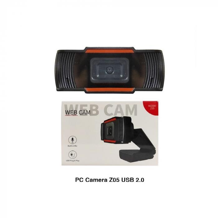Camera web Full HD 1080P cu microfon incorporat, USB 2.0 4