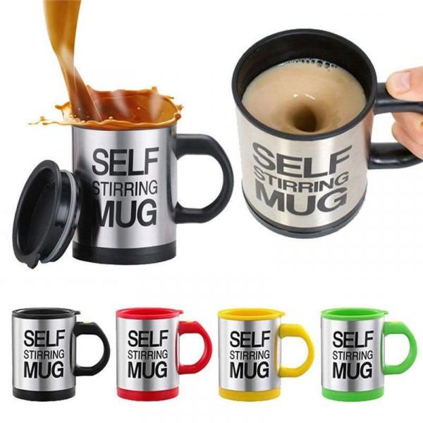 Cana cu amestecare automata pentru ness Self Stirring Mug 1