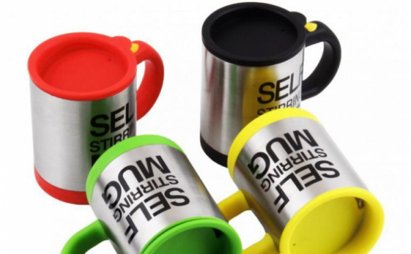 Cana cu amestecare automata pentru ness Self Stirring Mug 4