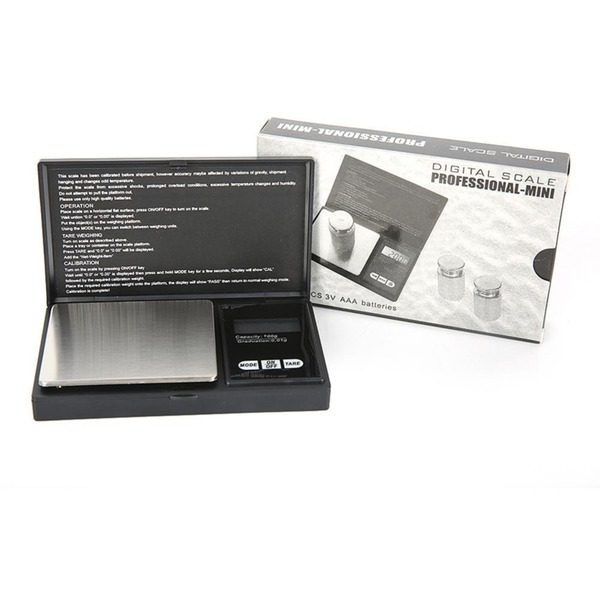 Cantar profesional pentru bijuterii  Afisaj Digital LCD minim 0.01 g ,maxim 200 g [0]