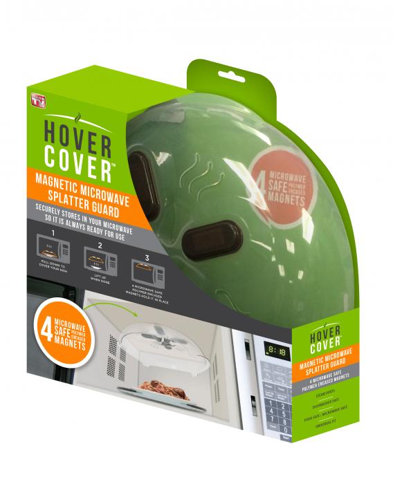 Capac magnetic pentru cuptorul cu microunde, Hover Cover Microwave Splatter Guard [2]
