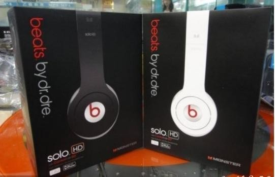 Casti Monster Beats by dr. Dre Solo HD 0
