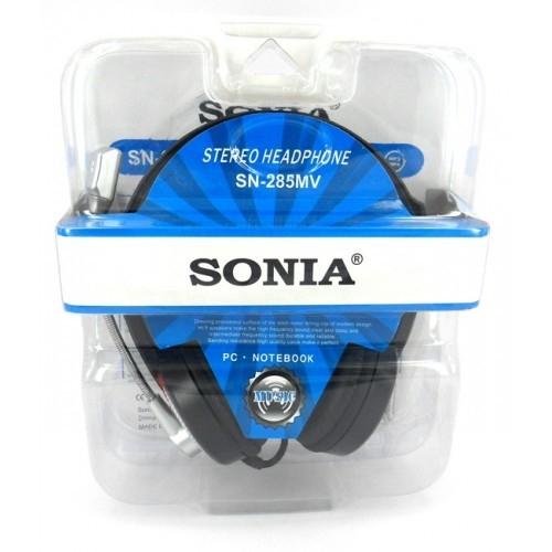 Casti stereo cu microfon Sonia SN-285MV 0