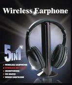 Casti wireless HI-FI 5 in 1 0