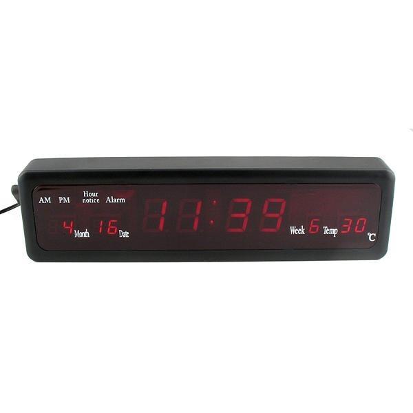 Ceas digital cu LED-uri CX-808 0
