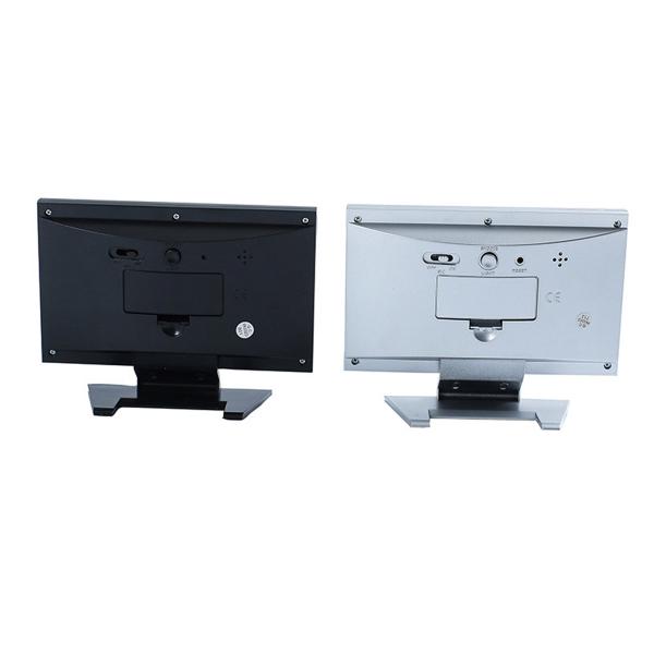 Ceas electronic digital cu ecran LCD si control vocal senzor acustic DS-8082 [3]