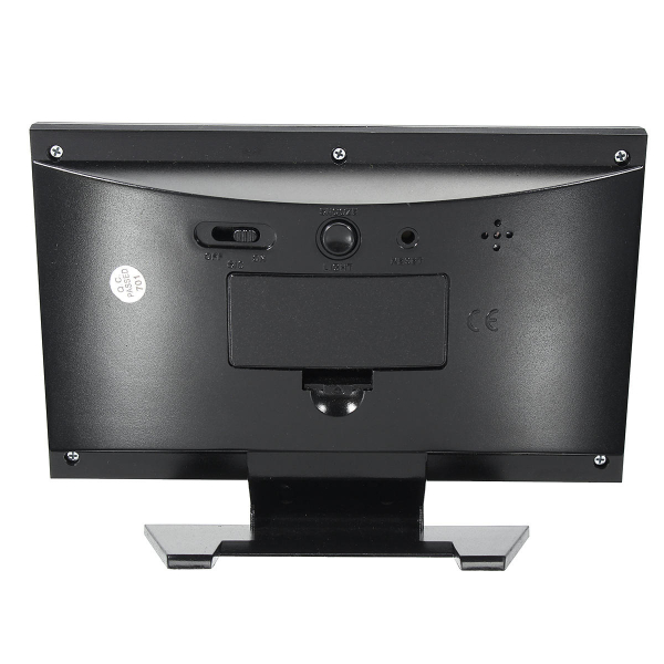 Ceas electronic digital cu ecran LCD si control vocal senzor acustic DS-8082 [4]