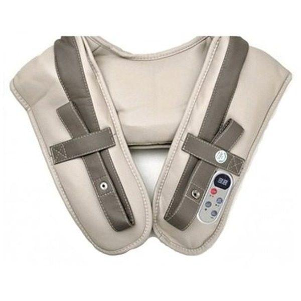 Centura pentru masaj Cervical Massage Shawls cu telecomanda inclusa 0