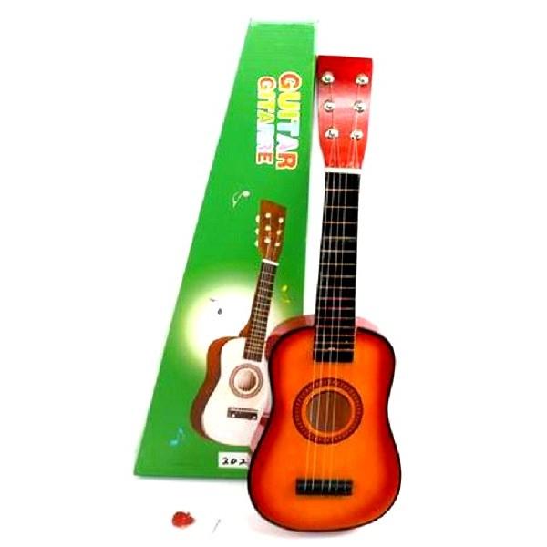 Chitara acustica mini pentru copii cu 6 corzi [3]