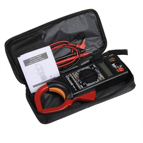Cleste ampermetric digital cu clampmetru DT266 1