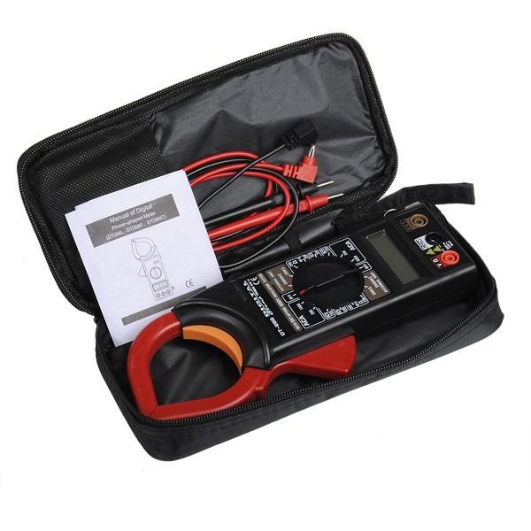Cleste ampermetric digital cu clampmetru DT266 0